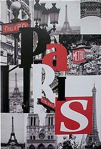 TELA DE CANVAS WORD PARIS