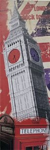 TELA DE CANVAS LONDON CLOCK TOWER