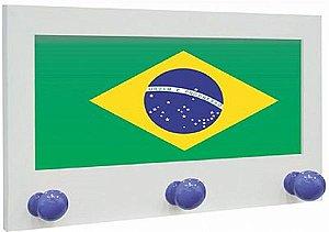 CABIDEIRO FLAG BRASIL 26X35CM