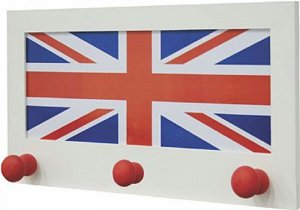 CABIDEIRO FLAG ENGLAND 26X35CM