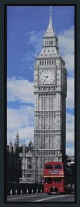TELA DE CANVAS COM MOLDURA BIG BEN