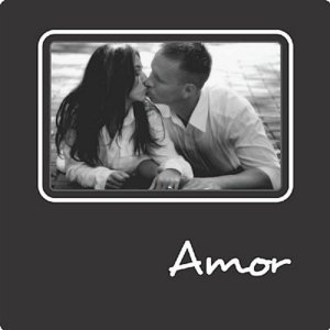 PORTA-RETRATOS PLAQUET - AMOR