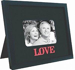 PORTA-RETRATOS HAPPY FAMILY - LOVE P/ 1 FOTO 10X15CM