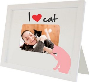 PORTA-RETRATOS LOVE CAT