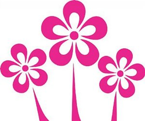 DECOR STICKER SWEET FLOWER