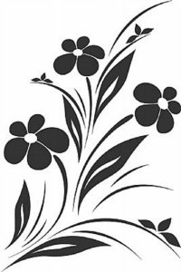 DECOR STICKER FLOWERS II