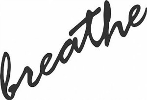 DECOR STICKER BREATHE