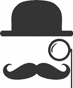 DECOR STICKER MUSTACHE