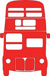 DECOR STICKER  LONDON BUS