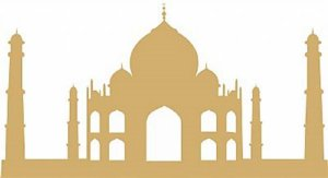 DECOR STICKER TAJ MAHAL