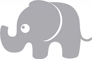 DECOR STICKER ELEPHANT