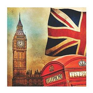 PLACA LONDON 25X25CM