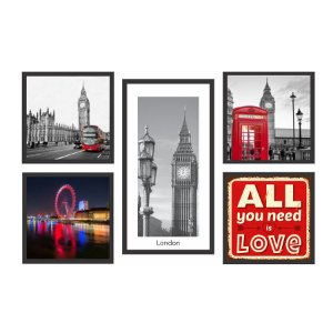 KIT DE QUADROS LONDON