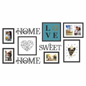 KIT DE QUADROS HOME SWEET HOME
