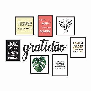 KIT DE QUADROS GRATIDÃO II