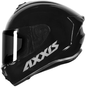 CAPACETE AXXIS DRAKEN SOLID/MONO GLOSS BLACK