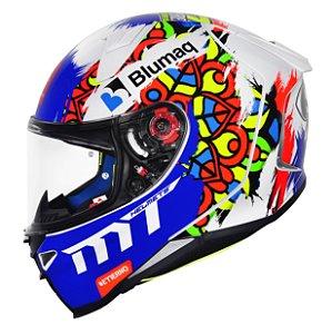 Capacete MT Revenge 2 Moto3 White