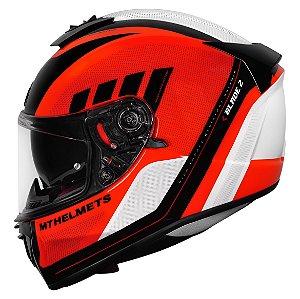 Capacete MT SV Blade 2 Plus Orange