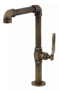 Torneira Banheiro Lavatorio Industrial Rustica 1195 B702 Living Classic Fani
