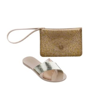 CHINELO MELISSA GOOD TIMES 32724 BEGE/OURO