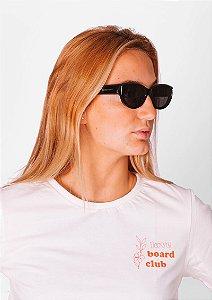 Óculos de sol loveboard gatinho retrô preto