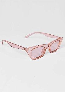 Óculos de sol loveboard gatinho estilo moderno rose claro