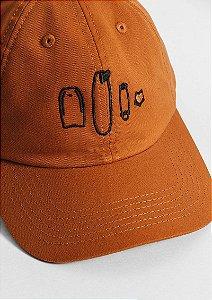 Boné dad hat marrom boards