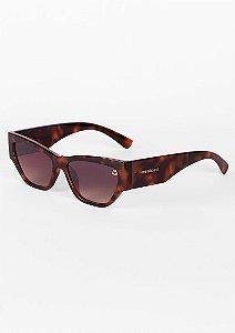 Óculos de sol gatinho moderno tartaruga
