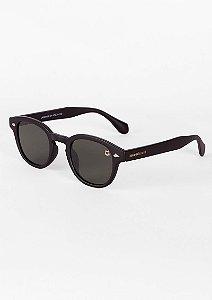 Óculos de sol clássico retrô preto