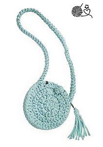 Bolsa crochet redondinha | Colab crochet por amor