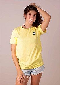 Camisetão amarelo viva simples
