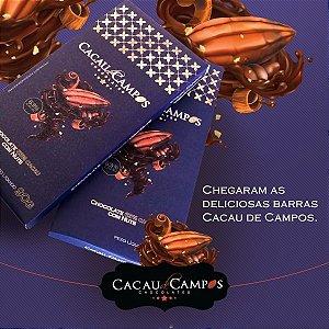 Barra 90g Chocolate 63% cacau com nuts