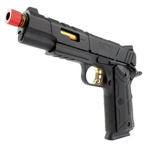 Pistola Airsoft 1911 RedWings Rossi Gold GBB 6mm