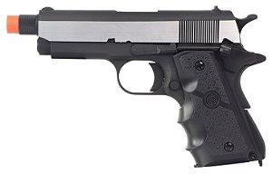 Pistola Airsoft SR-1911 Commando GBB 6mm - Full Metal