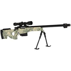 Miniatura em Metal Sniper L96 Camuflada