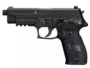 Pistola Airgun Pellet Sig Sauer P226 Navy Seals Co2 4,5mm - Full Metal