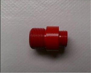 Ponta Vermelha / Adaptador para Supressor rosca WE / AW