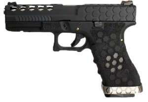 Pistola Airsoft Glock VX Hex Cut 0101 Armorer Works GBB 6mm