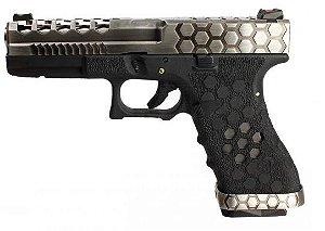 Pistola Airsoft Glock VX Hex Cut 0100 Armorer Works GBB 6mm