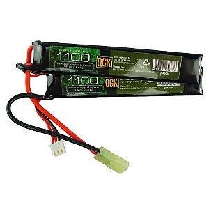 Bateria de Lipo 7,4V 1100 MAH 20c - QGK