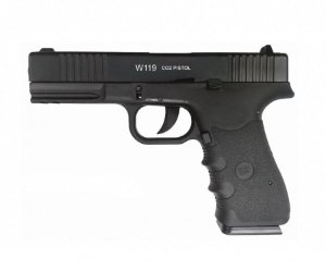 Pistola Airgun W119 Co2 4,5mm