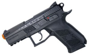 Pistola Airsoft CZ 75 P-07 Duty ASG Co2 6mm