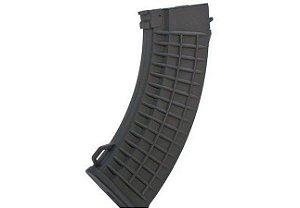 Magazine Airsoft em Polímero Mid-Cap para Rifle AK47 - 120 Bbs