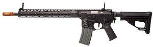 Rifle Airsoft Elétrico Ares Octarms M4 KM13 Black 6mm - Full Metal