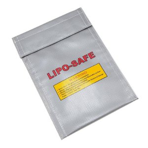 Bolsa Lipo Safe Anti-Chama 20x10cm