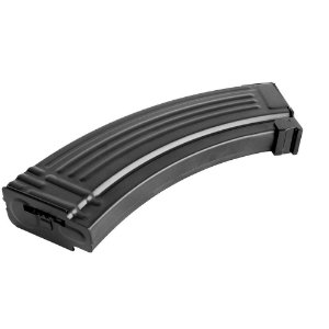Magazine Airsoft em Metal Hi-Cap para Rifle Aeg AK47 - 600 Bb´s