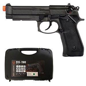 Pistola Airsoft Beretta M9A1 HG-190 HFC GBB 6mm