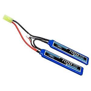 Bateria de Lipo 7,4v 1100 Mah 20c - Leão