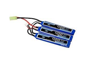 Bateria de Lipo 11,1v 1100 Mah 20c - Leão
