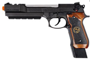 Pistola Airsoft M92 WE BioHazard Extended Brown GBB 6mm